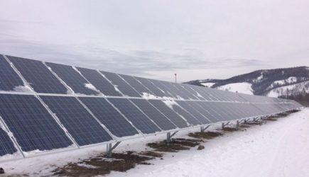 В Забайкальском крае введена в эксплуатацию первая солнечно-дизельная электростанция